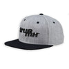 TrueMX Heather/Black Snapback