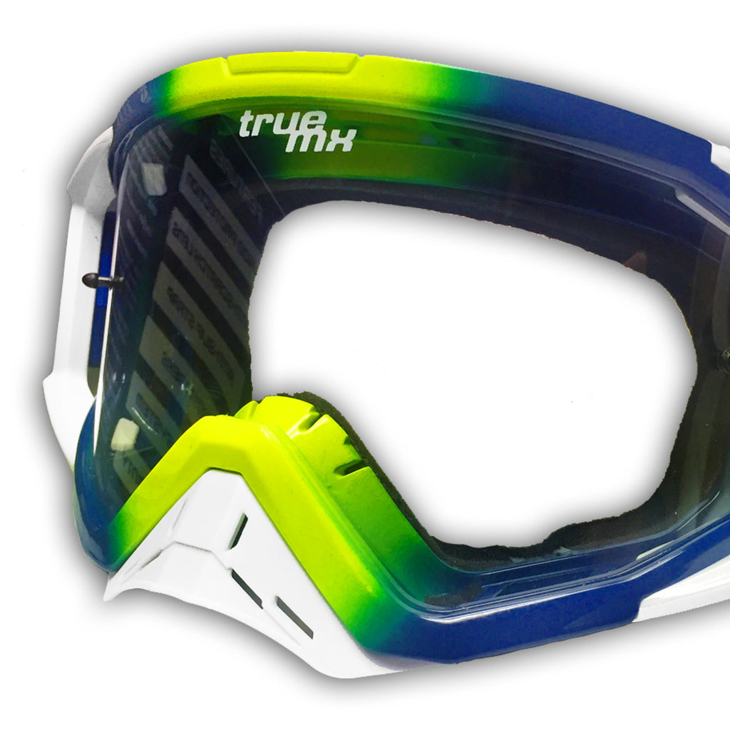 2018 TrueMX Goggle Nose Guard white