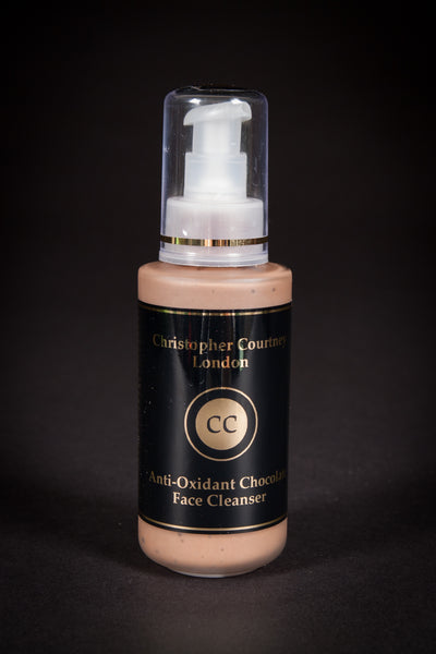 Anti-Oxidant Chocolate Face Cleanser        125ml       with a free face cloth - Christopher Courtney