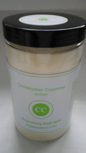 Nourishing Baby Bath Milk - natural and Organic Baby Skincare Products - Christopher Courtney London