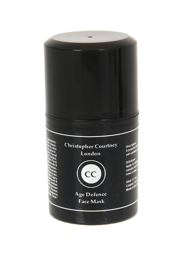 Face Mask For Men - Age Defence Face Mask          50ml  Christopher Courtney