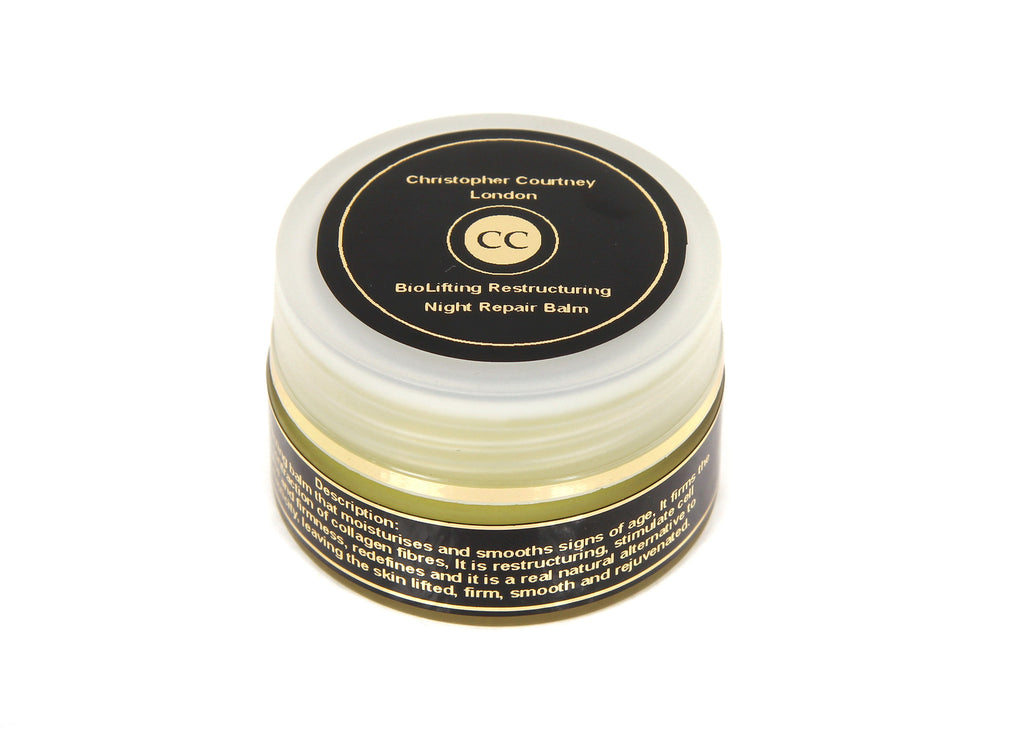 Restructuring Night Repair Balm- Night Balm                     15ml - Luxury Face Oils & Face Balm Christopher Courtney