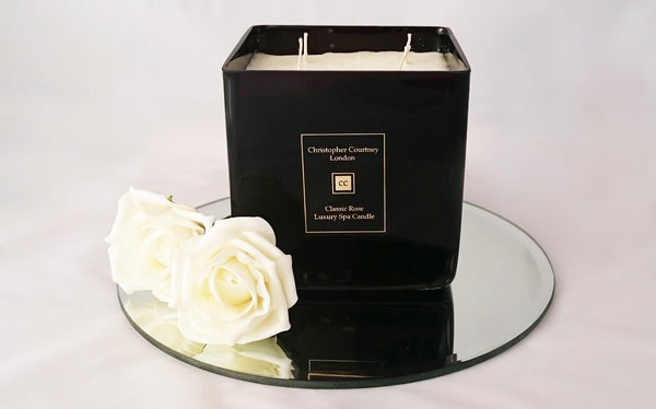 Classic Rose -  Luxury Candle - Christopher Courtney