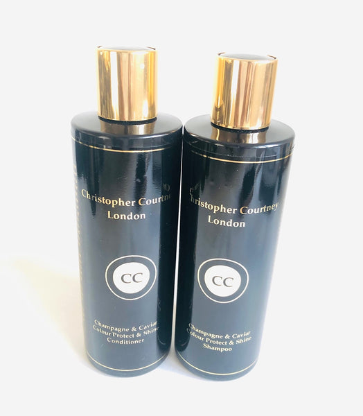 Champagne & Caviar Colour & Shine Protect Shampoo & Conditioner - Christopher Courtney