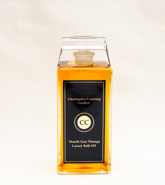 Muscle Ease Therapy Luxury Bath Oil                         200ml - Muscle Ease Therapy Luxury Bath Oil 200ml Christopher Courtney