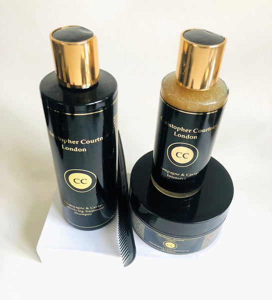 Luxury Champagne & Caviar Hair Detox & Rapid Growth Treatment - Christopher Courtney