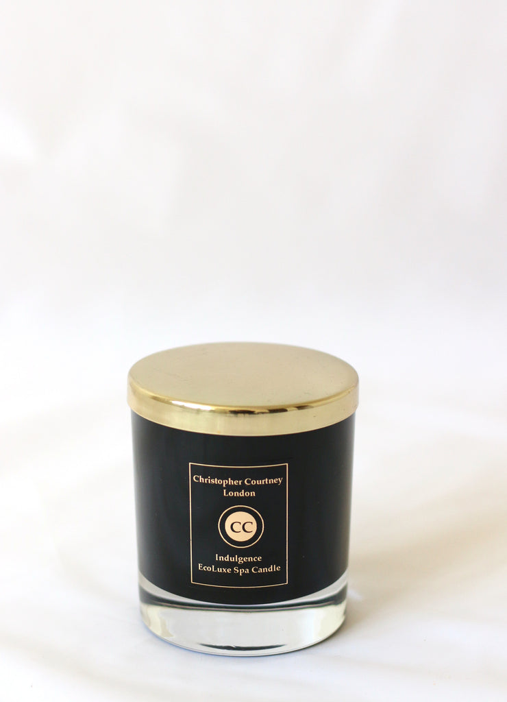 Indulgence - EcoLuxe Spa Candle  225g - Indulgence EcoLuxe Spa Candle Christopher Courtney