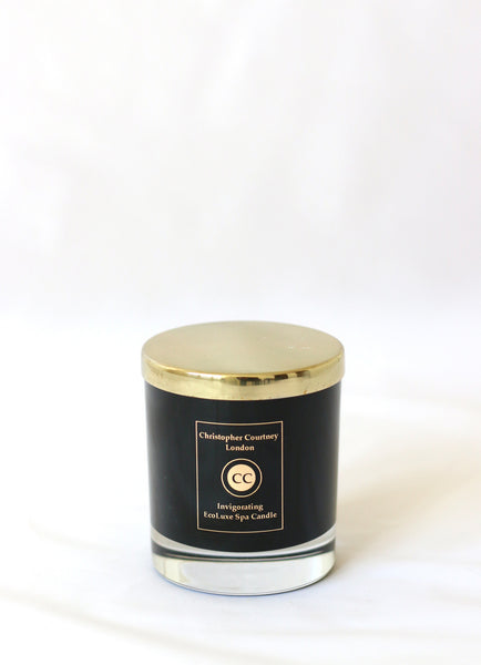 Invigorating –EcoLuxe Spa Candle   225g - Invigorating –EcoLuxe Spa Candle Christopher Courtney