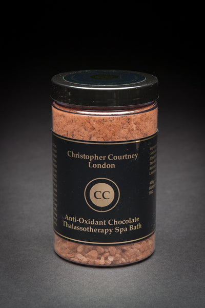 Anti – Oxidant Chocolate -Thalassotherapy Spa Bath Salt        500g - Thalassotherapy Spa Bath Salt Christopher Courtney