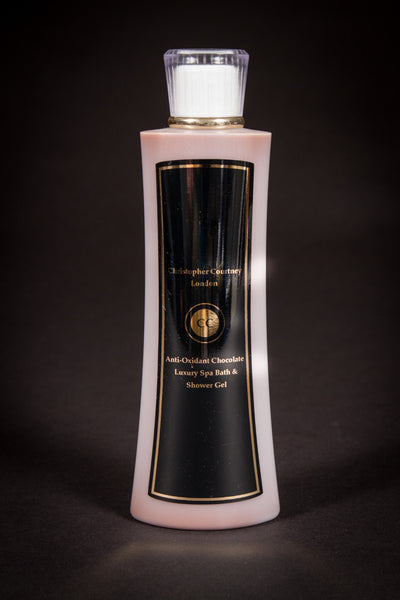 Anti-Oxidant Chocolate - Luxury Spa Bath/Shower Gel                         250ml - Christopher Courtney