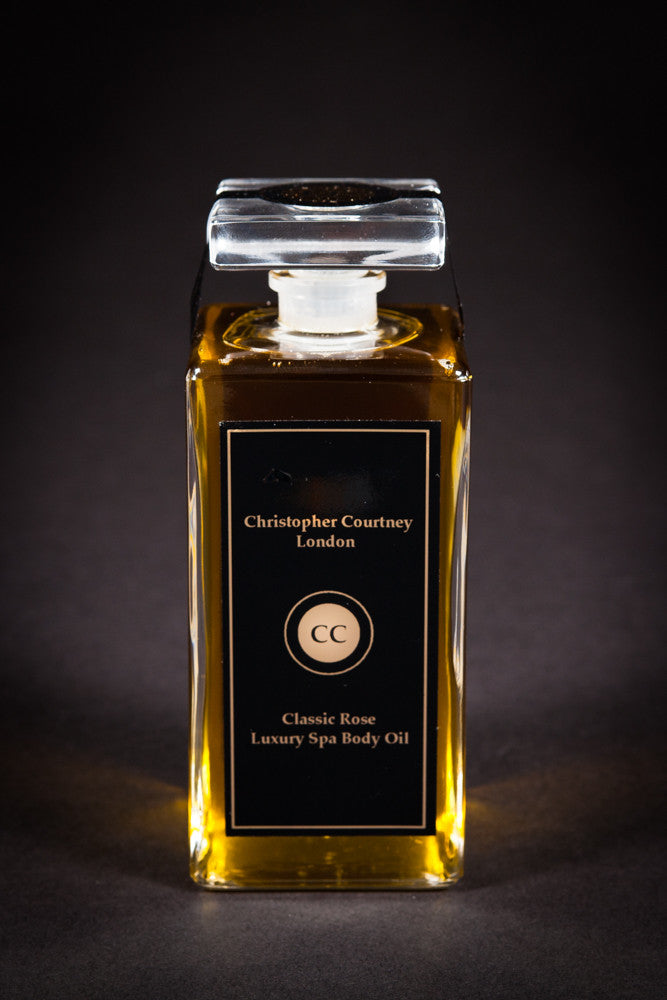 Classic Rose - Luxury Spa Body Oil           200ml - Luxury Spa Body Oil Christopher Courtney