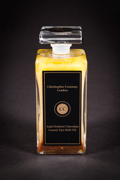 Anti-Oxidant Chocolate – Luxury Spa Body Oil              200ml - Luxury Spa Body Oil Christopher Courtney