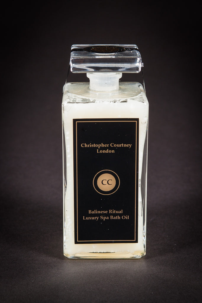 Balinese Ritual- Luxury Spa Bath Oil               200ml - Luxury Spa Bath Oil Christopher Courtney