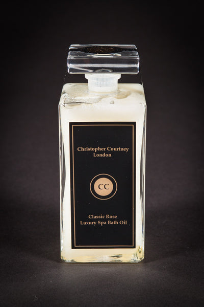 Classic Rose Luxury Spa Bath Oil     200ml by Christopher Courtney