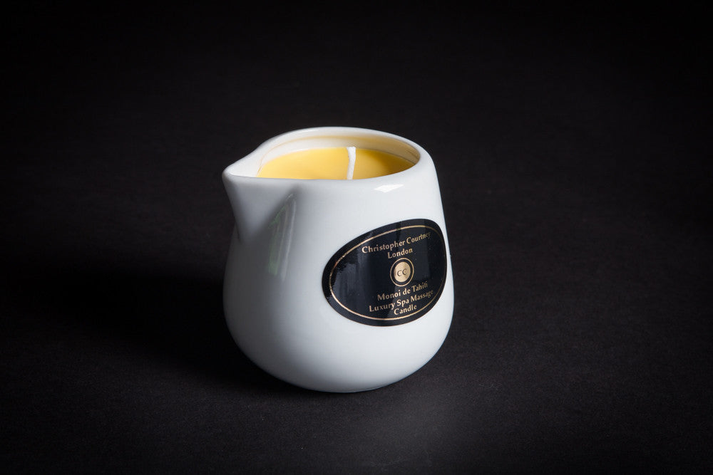 Monoi de Tahiti - Luxury Spa Massage Candle                                 228ml - Luxury Spa Massage Candle Christopher Courtney
