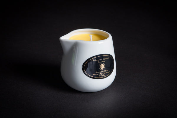 Hair Rescue & Shine - Luxury Massage Candle      228ml -  Christopher Courtney