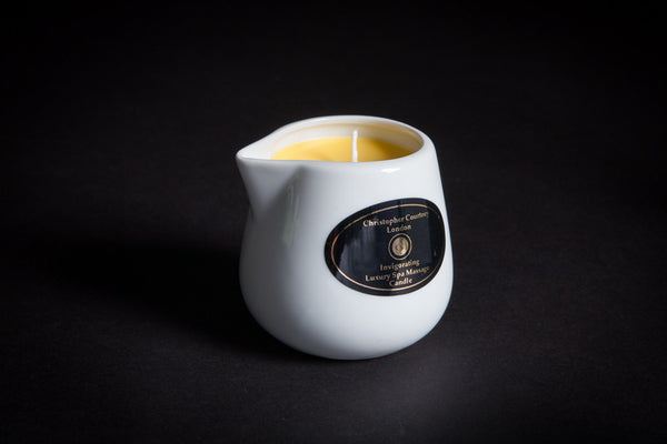 Invigorating - Luxury Spa Massage Candle                    228ml - Christopher Courtney