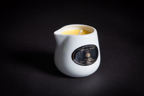 Indulgence -  Luxury Spa Massage Candle      228ml - Luxury Spa Massage Candle Christopher Courtney