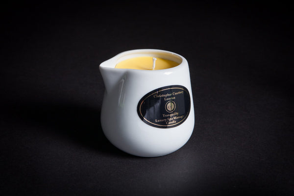 Tranquillity - Luxury Spa Massage Candle     228ml - Luxury Spa Massage Candle Christopher Courtney