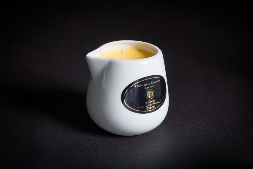 Foot, Nail & Cuticle - Luxury Spa Massage Candle           228ml - Luxury Spa Massage Candle Christopher Courtney
