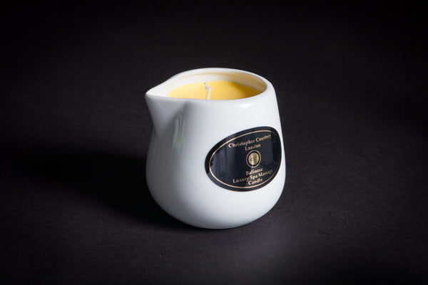 Foot, Nail & Cuticle - Luxury Spa Massage Candle           228ml - Christopher Courtney