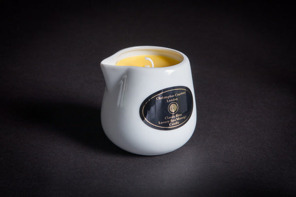 Classic Rose - Luxury Spa Massage Candle              228ml - Luxury Spa Massage Candle Christopher Courtney