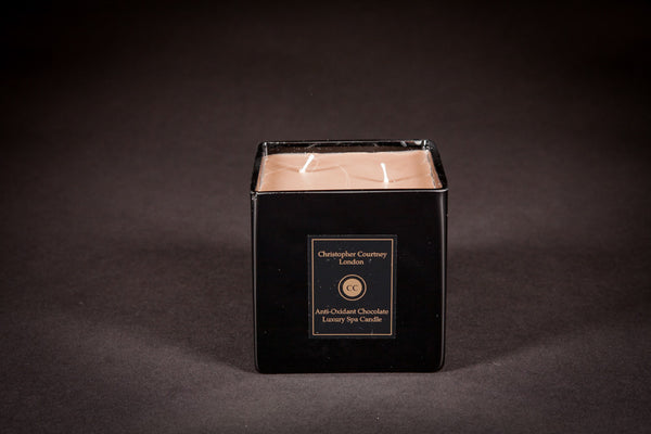 Anti –Oxidant Chocolate - Luxury Candle - Christopher Courtney