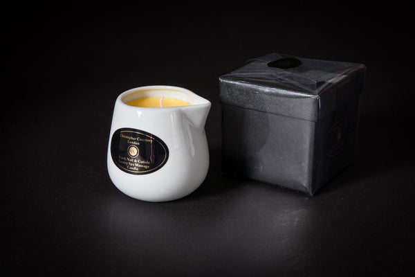 Hand, Nail & Cuticle - Luxury Massage Candle           228ml - Luxury Spa Massage Candle Christopher Courtney