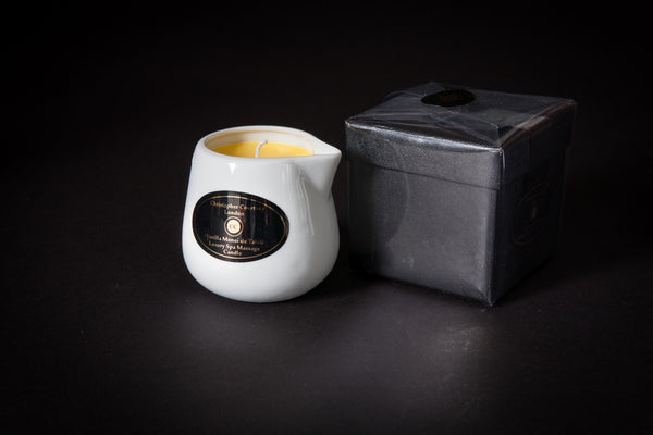 Vanilla Monoi de Tahiti - Luxury Spa Massage Candle       228ml - Luxury Spa Massage Candle Christopher Courtney