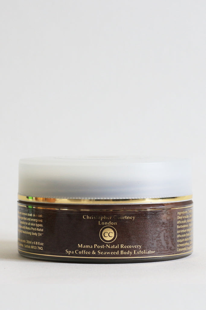 Mama Post-Natal Recovery Spa Coffee and Seaweed Body Exfoliator   200ml - Mama Post-Natal Recovery Spa Coffee and Seaweed Body Exfoliator Christopher Courtney