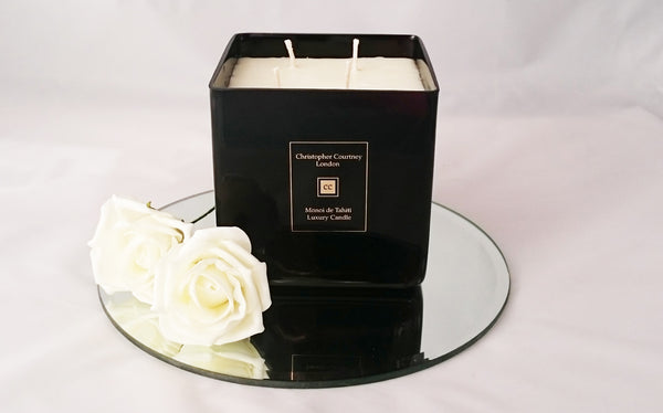 Monoi de Tahiti - Luxury Candle - Luxury Candle Christopher Courtney