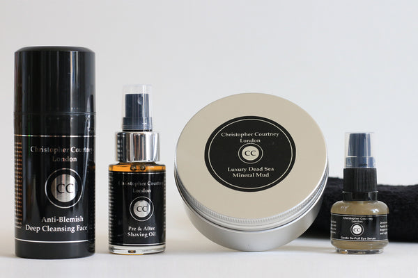 Deluxe Men's Grooming Gift Set - Deluxe Men's Grooming Gift Set Christopher Courtney
