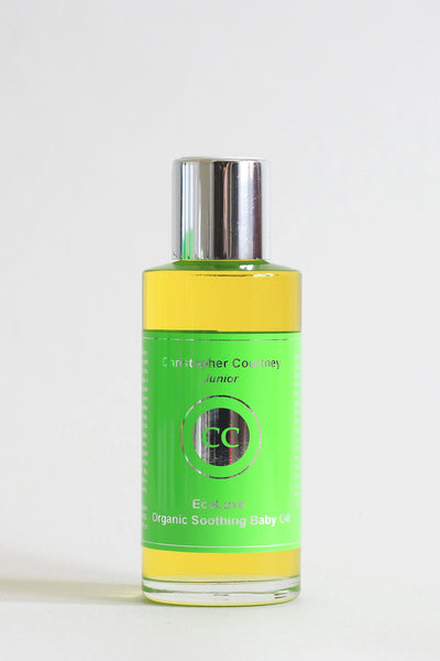 EcoLuxe Organic Soothing Baby Oil    100ml - EcoLuxe Organic Soothing Baby Oil Christopher Courtney