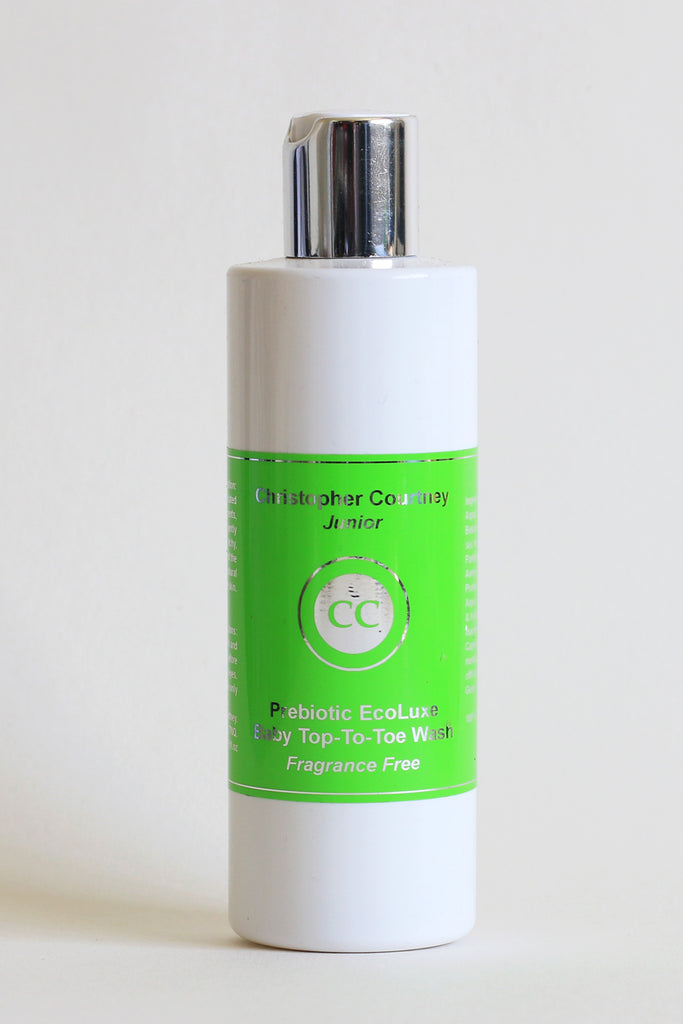 EcoLuxe Prebiotic Gentle Top-To-Toe Baby Wash        250ml - Fragrance Free - Christopher Courtney