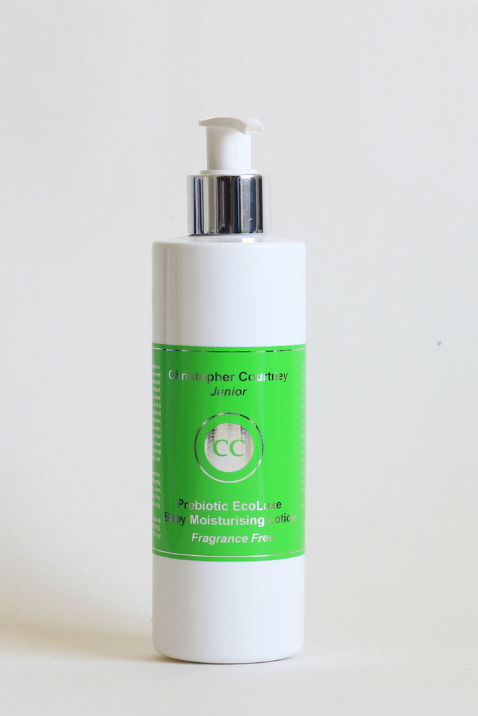 EcoLuxe Prebiotic Baby Moisturising Lotion   250ml  Fragrance Free - Christopher Courtney