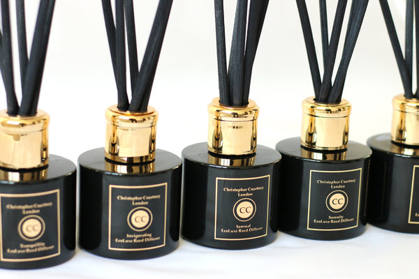 Sensual- EcoLuxe Reed Diffuser                100ml - Sensual- EcoLuxe Reed Diffuser Christopher Courtney