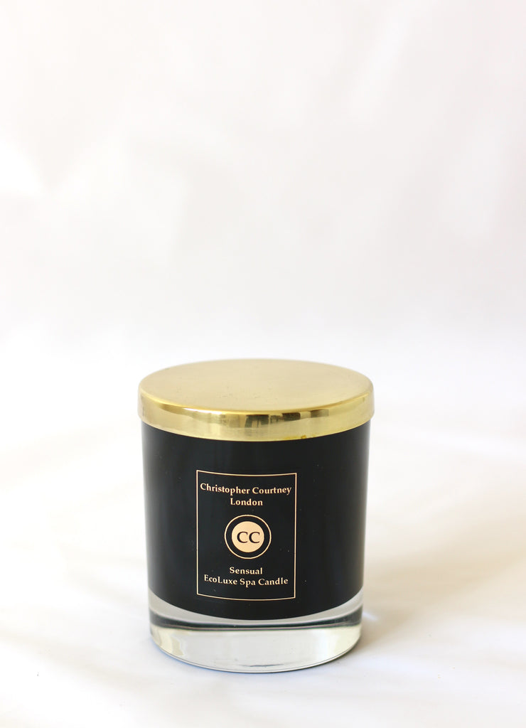 Serenity – EcoLuxe Spa Candle  225g - Serenity – EcoLuxe Candle Christopher Courtney