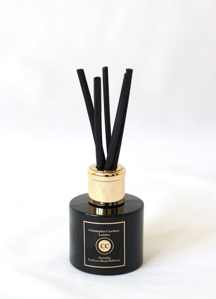 Serenity - EcoLuxe Reed Diffuser   100ml - Serenity - EcoLuxe Reed Diffuser Christopher Courtney