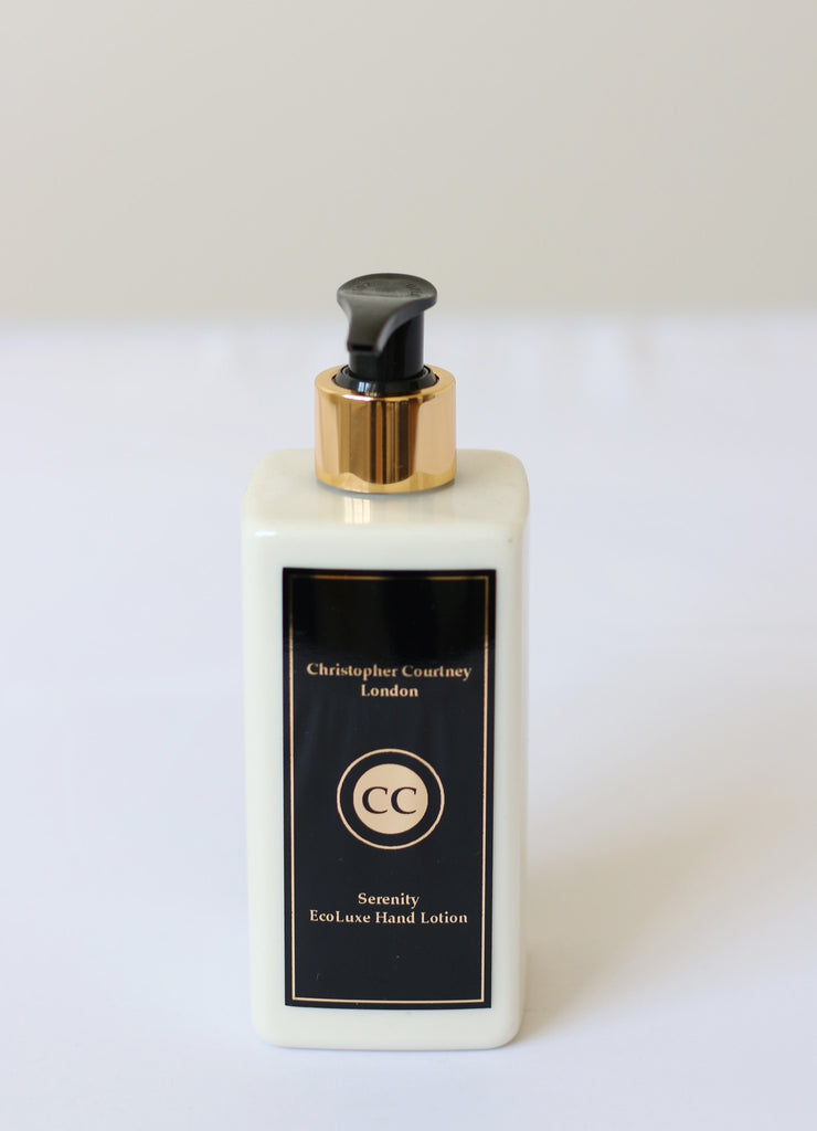 Serenity-  EcoLuxe Hand Lotion    300ml - Serenity- EcoLuxe Hand Lotion Christopher Courtney