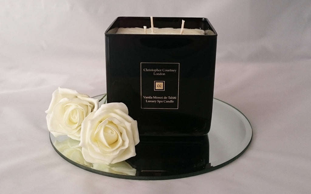 Vanilla Monoi de Tahiti - Luxury Candle - Luxury Candle Christopher Courtney
