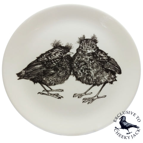 Cheeky Jack - Fledglings Plate - Chown of Cornwall - Fine Bone China - Cornwall - Designer - [Product_type], [Product_vendor]