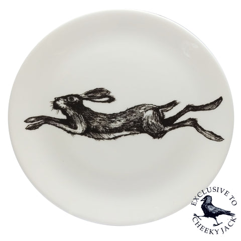 Cheeky Jack - Hare Plate - Chown of Cornwall - Fine Bone China - Cornwall - Designer - [Product_type], [Product_vendor]