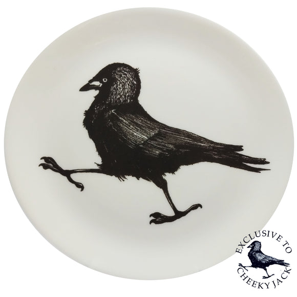 Cheeky Jack - Jackdaw Plate - Chown of Cornwall - Fine Bone China - Cornwall - Designer - [Product_type], [Product_vendor]