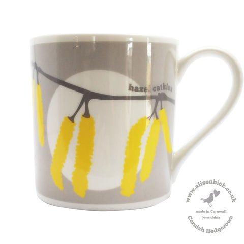 Cornish Hedgerows - Hazel Catkins - Chown of Cornwall - Fine Bone China - Cornwall - Designer - [Product_type], [Product_vendor]