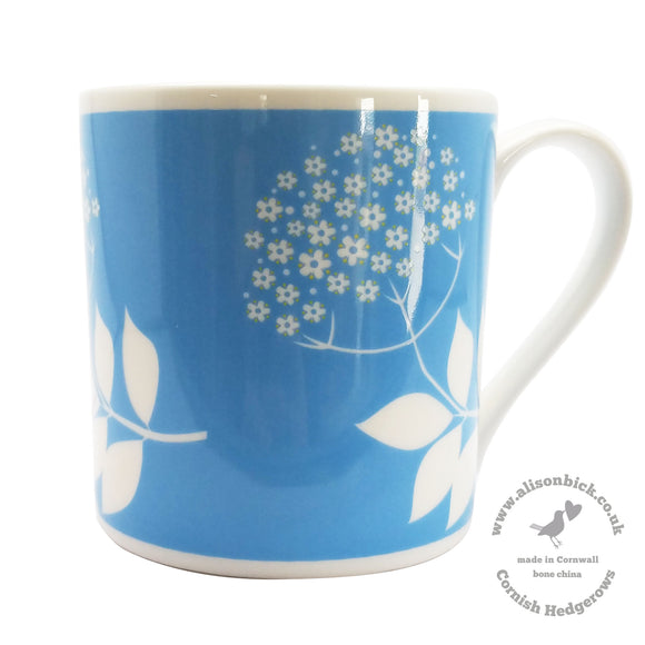 Cornish Hedgerows - Elderflower - Chown of Cornwall - Fine Bone China - Cornwall - Designer - [Product_type], [Product_vendor]