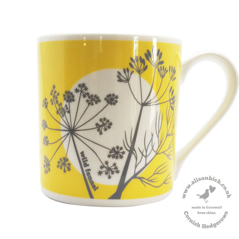 Cornish Hedgerows - Wild Fennel - Chown of Cornwall - Fine Bone China - Cornwall - Designer - [Product_type], [Product_vendor]