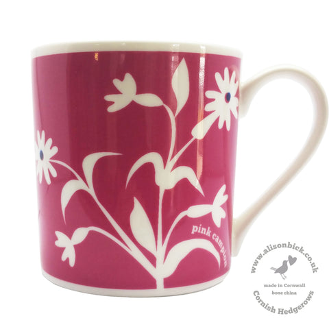 Cornish Hedgerows - Pink Campion - Chown of Cornwall - Fine Bone China - Cornwall - Designer - [Product_type], [Product_vendor]