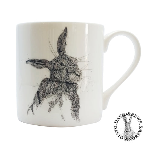David Andrews - Hare 1 - Chown of Cornwall - Fine Bone China - Cornwall - Designer - [Product_type], [Product_vendor]