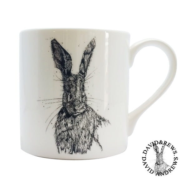David Andrews - Hare 2 - Chown of Cornwall - Fine Bone China - Cornwall - Designer - [Product_type], [Product_vendor]