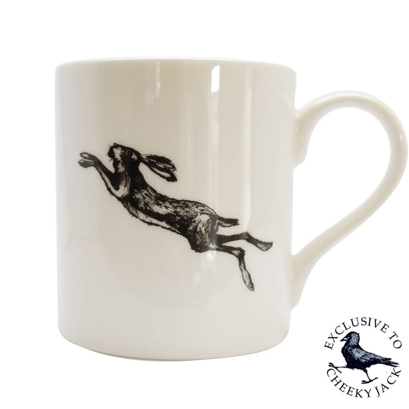 Cheeky Jack - Leaping Hare - Chown of Cornwall - Fine Bone China - Cornwall - Designer - [Product_type], [Product_vendor]
